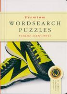 Premium Wordsearch Puzzles Magazine Issue NO 63