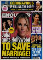 National Enquirer Magazine Issue 23/03/2020