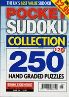 Pocket Sudoku Collection Magazine Issue NO 128