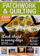British Patchwork & Quilting Magazine Issue APR 20