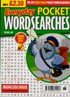 Everyday Pocket Wordsearch Magazine Issue NO 88