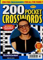 200 Pocket Crosswords Magazine Issue NO 60