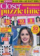 Closer Puzzle Time Magazine Issue NO 8 FEB20