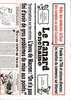 Le Canard Enchaine Magazine Issue 70