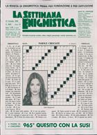 La Settimana Enigmistica Magazine Issue NO 4583
