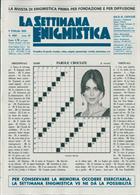 La Settimana Enigmistica Magazine Issue NO 4585