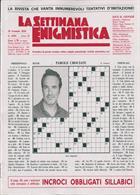 La Settimana Enigmistica Magazine Issue NO 4584