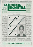 La Settimana Enigmistica Magazine Issue NO 4586