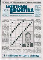 La Settimana Enigmistica Magazine Issue NO 4582