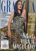 Grazia Italian Wkly Magazine Issue NO 4