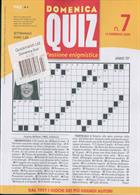 Domenica Quiz Magazine Issue NO 7