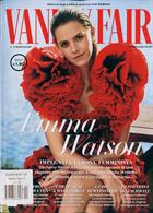 Vanity Fair Italian Magazine Issue NO 20004