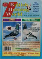 British Homing World Magazine Issue NO 7515