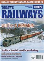 Todays Railways Europe Magazine Issue FEB 20