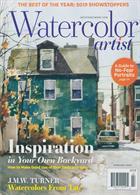 Watercolor Artist Magazine Issue FEB 20