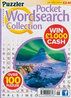 Puzzler Q Pock Wordsearch Magazine Issue NO 206