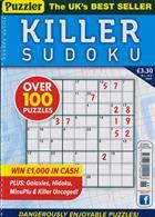 Puzzler Killer Sudoku Magazine Issue NO 168