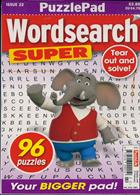 Puzzlelife Wordsearch Super Magazine Issue NO 22