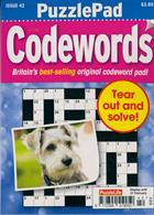 Puzzlelife Ppad Codewords Magazine Issue NO 42