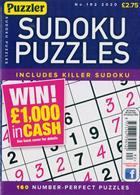 Puzzler Sudoku Puzzles Magazine Issue NO 192