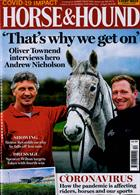 Horse And Hound Magazine Issue 19/03/2020
