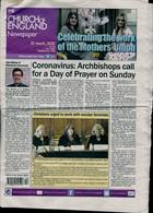 Church Of England Newsp Magazine Issue 20/03/2020