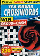 Puzzler Tea Break Crosswords Magazine Issue NO 290
