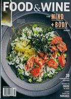 Food & Wine Usa Magazine Issue JAN 20