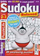 Puzzlelife Sudoku L 2&3 Magazine Issue NO 17
