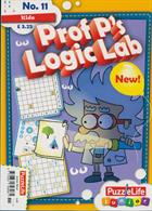 Puzzlelife Junior Silver Magazine Issue PROF LOG11