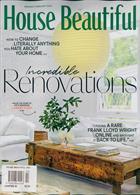 House Beautiful Usa Magazine Issue JAN-FEB
