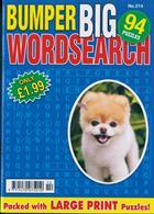 Bumper Big Wordsearch Magazine Issue NO 214