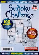 Sudoku Challenge Monthly Magazine Issue NO 188