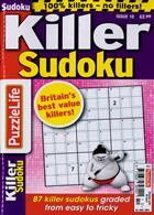 Puzzlelife Killer Sudoku Magazine Issue NO 10