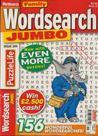 Family Wordsearch Jumbo Magazine Issue NO 299