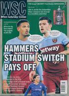 When Saturday Comes Magazine Issue MAR 20