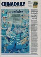 China Daily Europ Edit Magazine Issue 22/01/2021