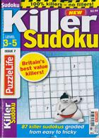Puzzlelife Killer Sudoku Magazine Issue NO 7