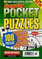 Everyday Pocket Puzzle Magazine Issue NO 137