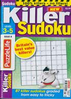 Puzzlelife Killer Sudoku Magazine Issue NO 8