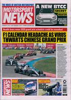 Motorsport News Magazine Issue 19/02/2020