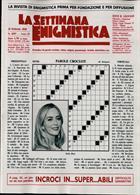 La Settimana Enigmistica Magazine Issue NO 4587