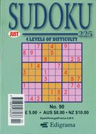 Just Sudoku 225 Magazine Issue NO 90