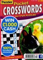 Puzzler Pocket Crosswords Magazine Issue NO 435