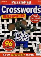 Puzzlelife Crossword Super Magazine Issue NO 23