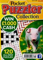 Puzzler Pocket Puzzler Coll Magazine Issue NO 90