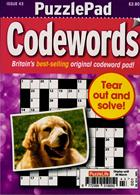 Puzzlelife Ppad Codewords Magazine Issue NO 43