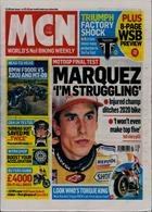 Motorcycle News Magazine Issue 26/02/2020