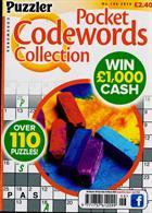 Puzzler Q Pock Codewords C Magazine Issue NO 146
