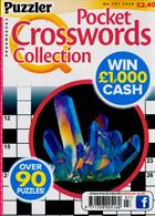 Puzzler Q Pock Crosswords Magazine Issue NO 207